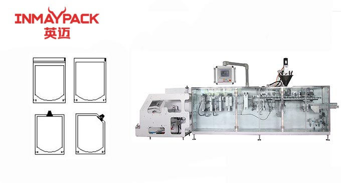 Normal doy pack standup pouch horizontal packaging machine